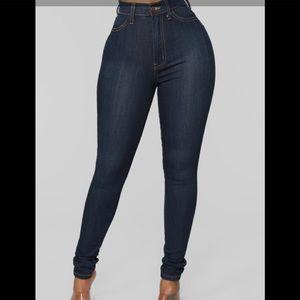 Fashion Nova super high waisted jeans!
